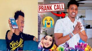 #Prank .. call 📞 seyga oo ahmed maraq ku sameyay 😱..