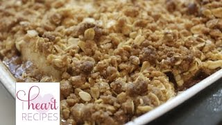 Old Fashioned Apple Crisp Recipe | I Heart Recipes