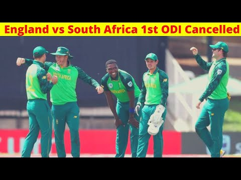 Breaking: England vs South Africa 1st ODI Cancelled    Sports Today