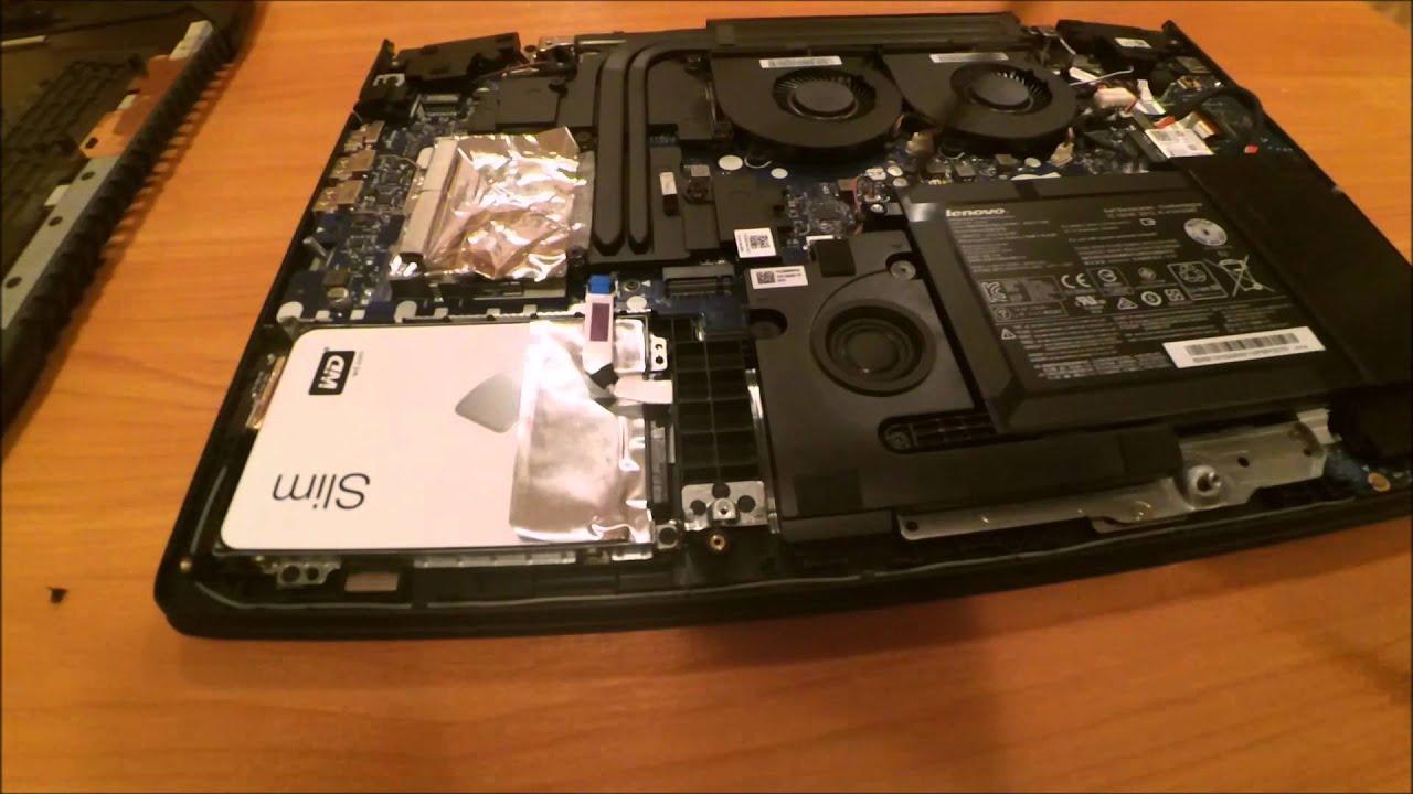 Lenovo IdeaPad Y700 SSD Install and Upgrade