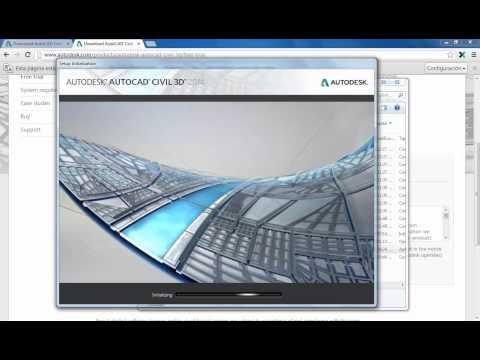 Descargar AutoCAD Civil 3D 2018 - 2017 - 2016 - 2015  - 2014 - 2013 - 2012 | Español / ingles