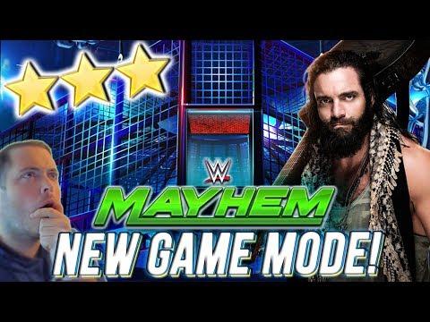 WWE MAYHEM | NEW ELIMINATION CHAMBER MODE & GAMEPLAY! 3 STAR REWARDS!