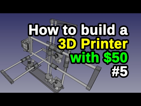 Simple 3D | RepStrap Printer #5 | Homemade Structural Parts | DIY at Home