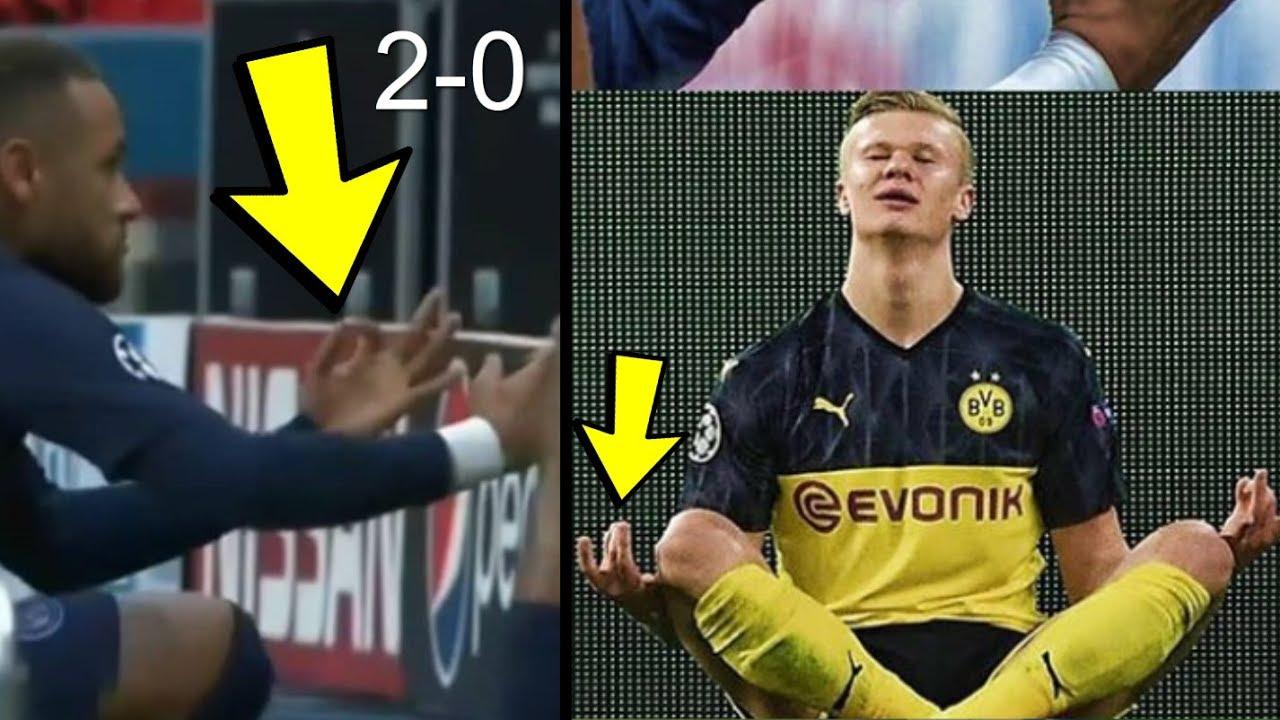 Neymar Reaction to PSG 2-0 Dortmund Champions League Match