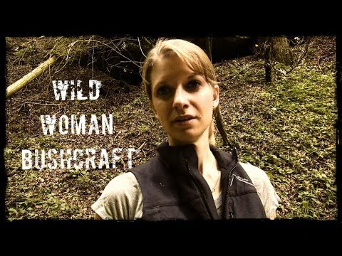 Alone in the Woods - Wild Woman Bushcraft