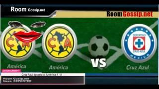 Cruz Azul aplasta al América 4 0