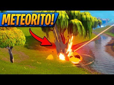 IMPACTO DEL METEORITO!! *ASÍ ES* FORTNITE: Battle Royale