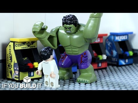 LEGO BATMAN v HULK ARCADE FAIL