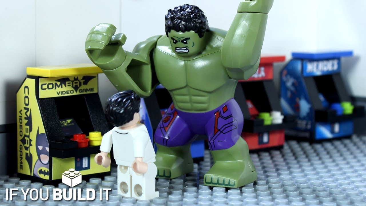 Video hulk vs batman