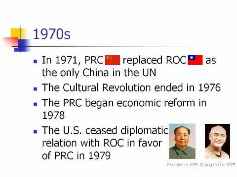 Political Status of Taiwan 台灣問題