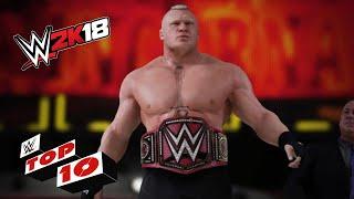 Brutal Barricade Bashings: WWE 2K18 Top 10