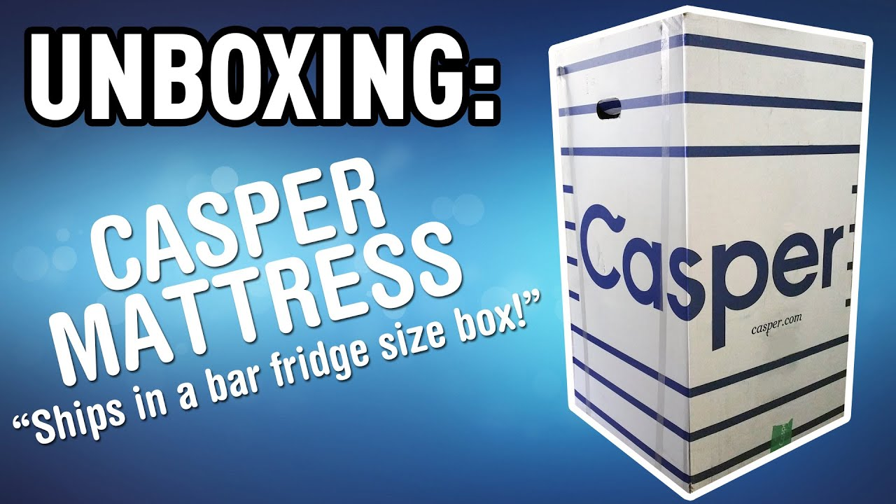 Unboxing The Casper Mattress