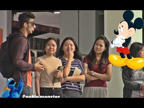 Thumbnail: Talking to strangers in Disney characters