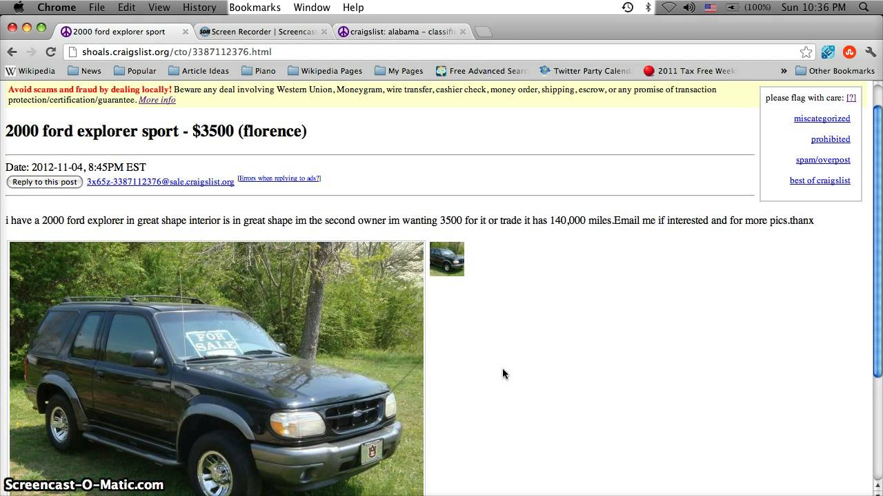 Craigslist Muscle Shoals Alabama Used Cars And Trucks