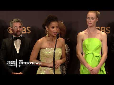 "Gugu Mbatha-Raw, Mackenzie Davis and Denise Burse on ""Black Mirror"" - 2017 Primetime Emmys"