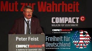 Widerstand auf allen Ebenen - Peter Feist auf der COMPACT-Freiheitskonferenz