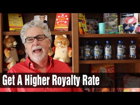 How to Get the Highest Royalty Rate Possible