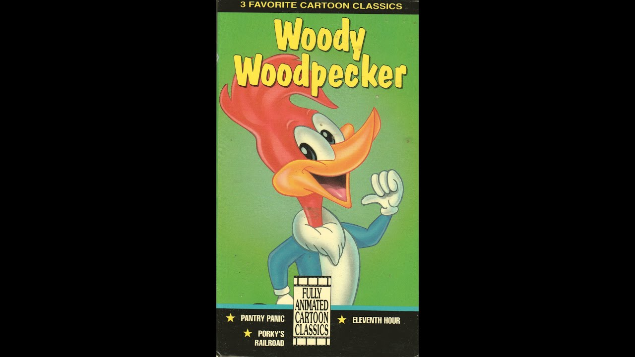 opening amp closing to woody woodpecker 1992 vhs youtube