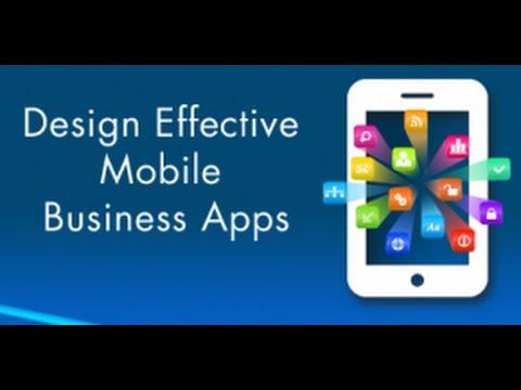 Design Effective Mobile Business Apps - Webinar Recording