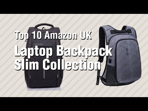 Laptop Backpack Slim Collection // Top 10 Amazon UK