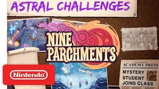 Nine Parchments: The Astral Challenges Release Trailer - Nintendo Switch