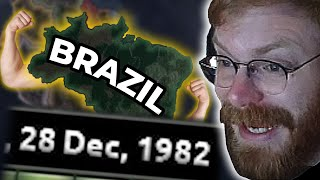 LONGEST MULTIPLAYER GAME EVER! BRAZIL IS A MAJOR! - HOI4 Multiplayer