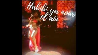 """""""Habibi ya nour el ain"""" dance by Carmen Fragoso"""