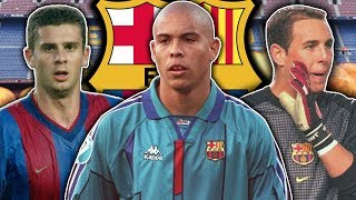 10 Players You Forgot Played For Barcelona | Ronaldo, Motta & Reina