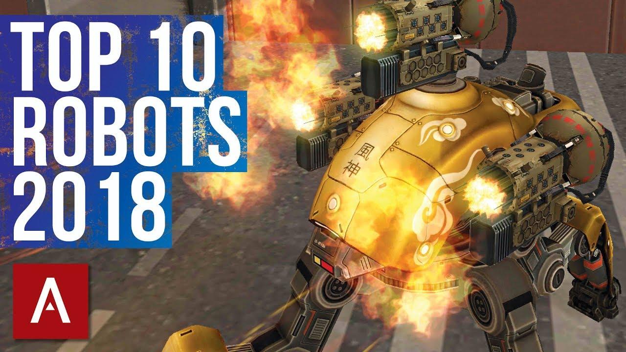 Top Ten Most Powerful Overall WWR (World War Robot ...