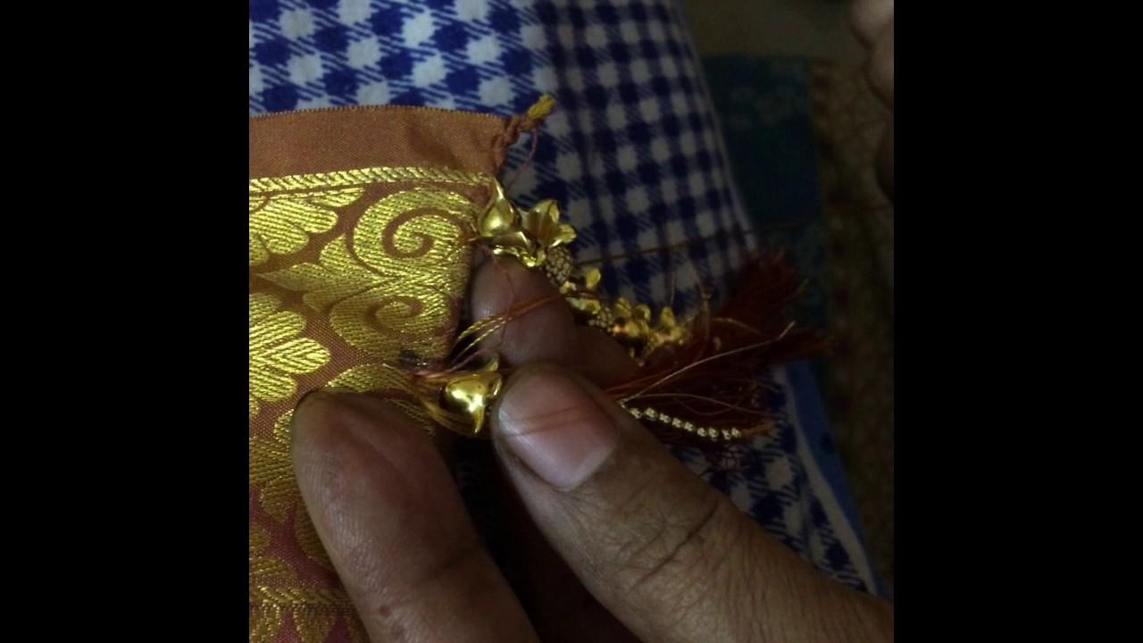 how to make silk saree