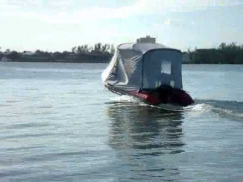 & Saturn Bimini Top Canopy with Removable Tent! - YouTube