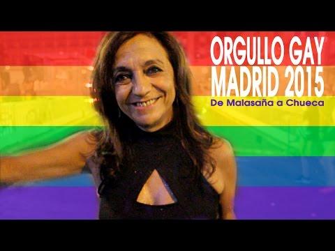 Orgullo Gay Madrid 2015 - De Malasaña a Chueca - Jubilada Experiment