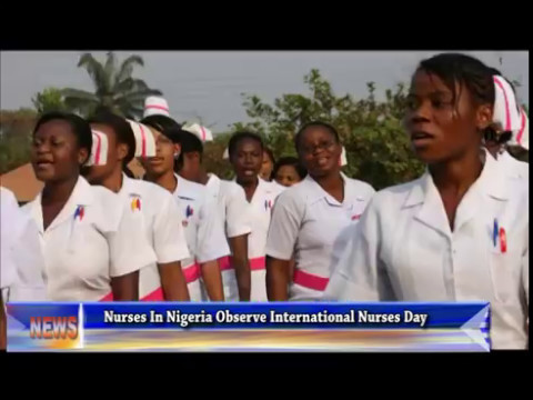 Nurses In Nigeria Observe International Nurses Day