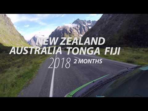 New Zealand, Australia, Tonga & Fiji 2018   HD