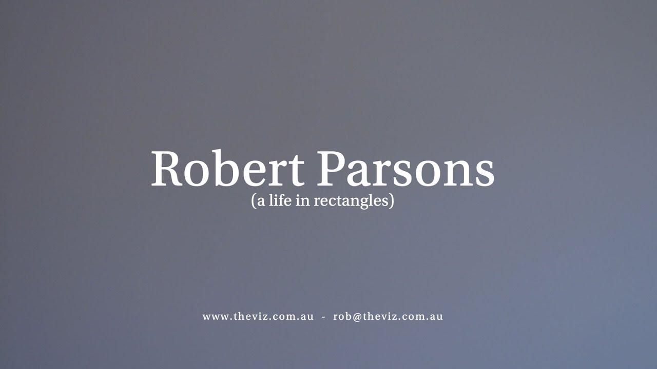 Robert Parsons 2021 - A selection of work