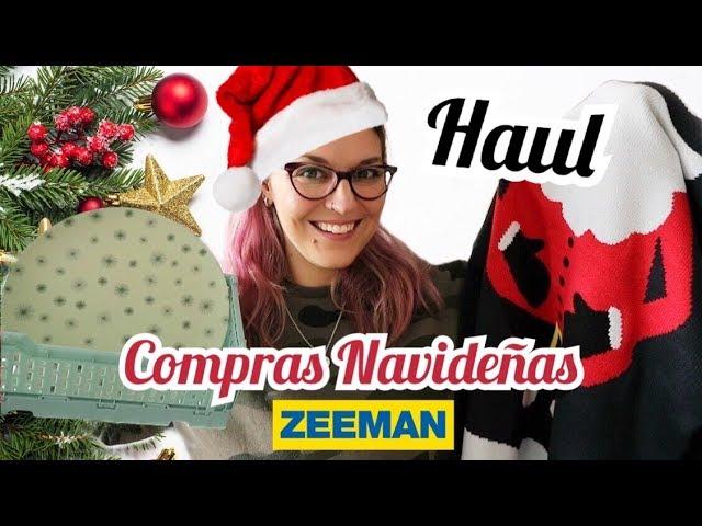 HAUL NAVIDAD 2019 *Compras Navideñas 2019 ZEEMAN*
