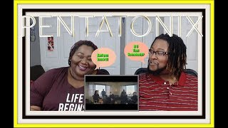 [OFFICIAL VIDEO] New Rules x Are You That Somebody? - Pentatonix: Reaction [MeetTheNelson's]