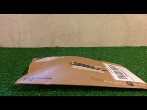 Unboxing package from Thomasfan12341
