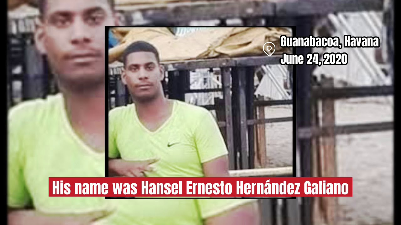 Cuban police kills a young man in Guanabacoa - YouTube