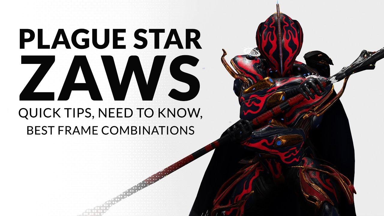 Warframe | Quick Tips on PLAGUE STAR ZAWS - YouTube