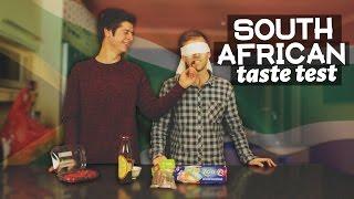 South african food taste test