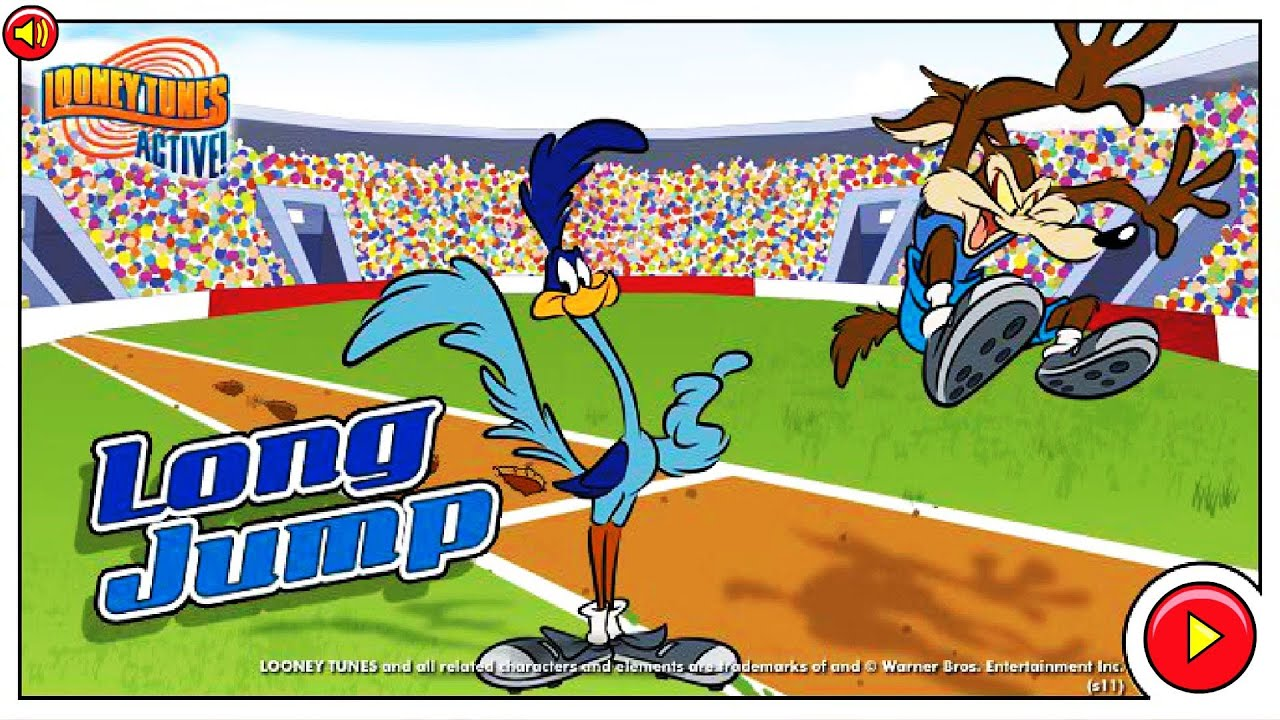 Looney Tunes Active Long Jump Youtube