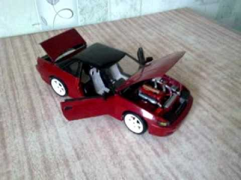 Papercraft Nissan Silvia s13 Paper model