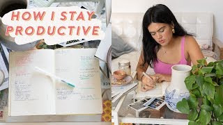 How I Stay Productive + Inspired