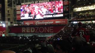 Halftime Laser Light Show - Arizona Cardinals vs Seattle Seahawks