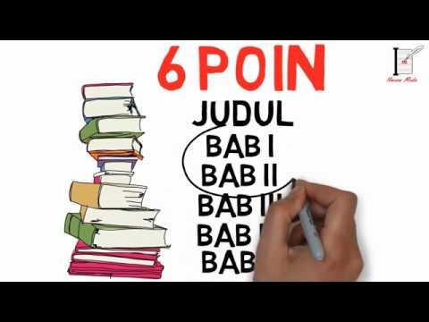 Tips Dan Trik Menulis Bab 1 Dan Bab 2 Cepat Dan Mudah Youtube