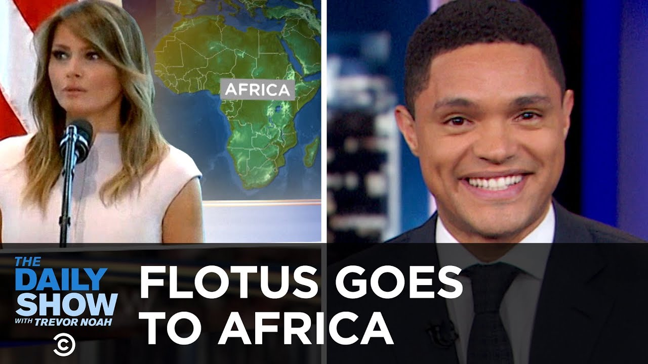 FLOTUS Goes to Africa & Facebook Gets Hacked Again   The Daily Show