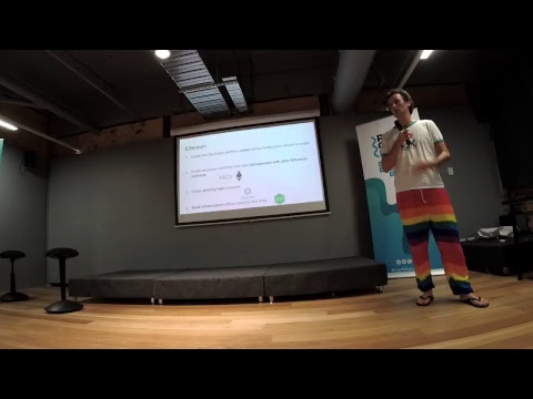 Blockchain Australia - Ethereum Brisbane January 2018 meetup