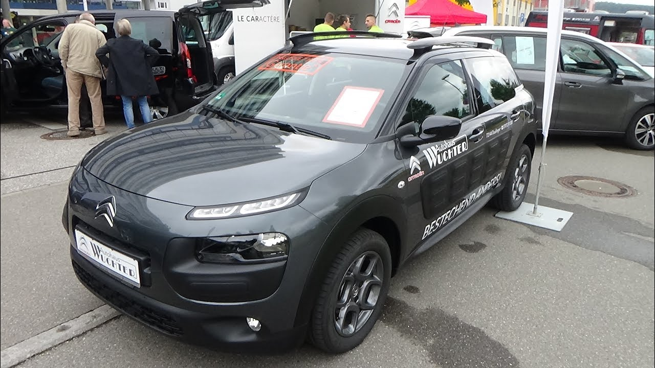 2017 citroen c4 cactus puretech 82 feel edition exterior. Black Bedroom Furniture Sets. Home Design Ideas