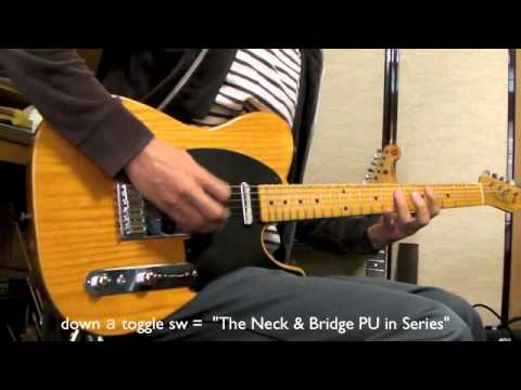 Telecaster Wiring Mod Series Switch Demo
